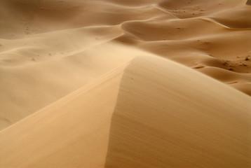 View of sand dunes in Erg Chebbi desert, Morocco