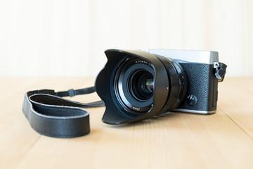 Retro styled camera