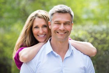 Portrait Of Happy Couple