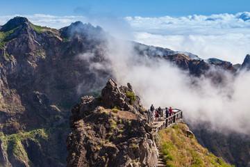 Trekking on Madeira island