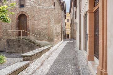 scenery in Fabriano Italy Marche