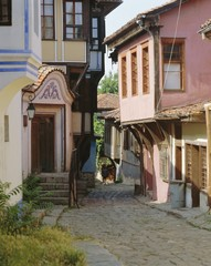Old town of Plovdin, Bulgaria