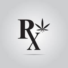 Medicinal Marijuana vector icon