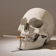 smoker's future, 3d rendering