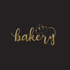 Bakery logotypes set. Hand draw Bakery labels, logos, badges, icons.