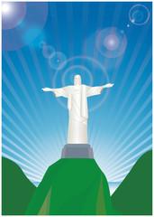 リオデジャネイロオリンピック・コルコバードの丘