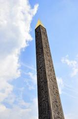 Obelisk von Luxor auf der Place de la Concorde