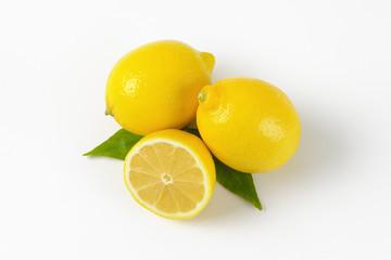 two and half lemons