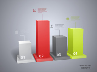 Infographic design template. File is in eps10 format.