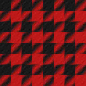 Lumberjack plaid seamless pattern