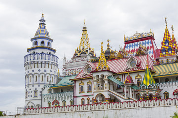 Cultural-Entertainment Complex Kremlin In Izmailovo in Moscow, Russia