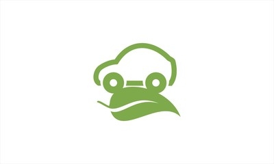 auto ecology leaf logo