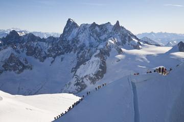 Chamonix-Mont-Blanc, Chamonix, Haute Savoie, French Alps, France, Europe