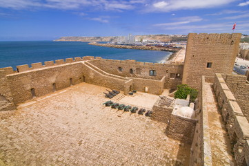 The old castle of Safi, Morocco, North Africa, Africa
