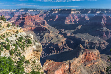 Sunrise at Pima Point of Grand Canyon, South Rim, Arizona,  USA