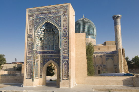 Guri Amir Mausoleum, Samarkand, Uzbekistan