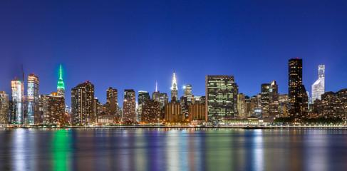 Fotobehang Brooklyn Bridge New York City Manhattan buildings skyline