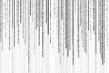 grunge black matrix lines on white background