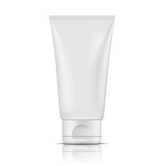Blank white tube design mockup