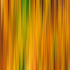 blurry abstract yellow green background texture with vertical stripes. square image