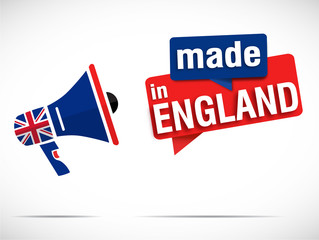 megaphone : made in england