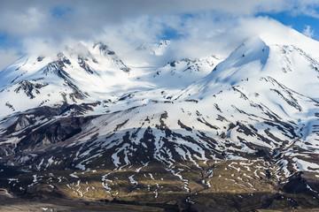 Summit of Mount St. Helens in Washington,  USA