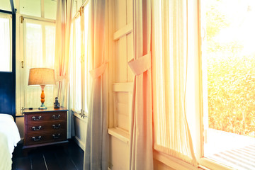The Morning Light Spread Through The Window