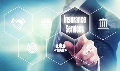 Business Insurance Services Concept