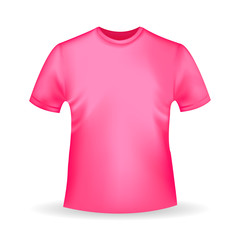 Search photos polo category graphic resources for Pink t shirt template