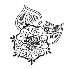 tattoo henna element