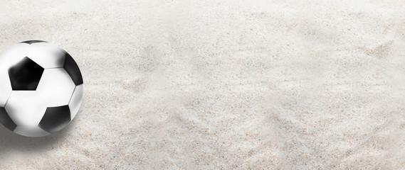 football soccer sand background 3d design