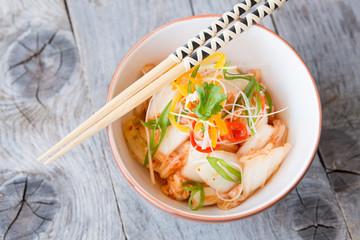 Korean kimchi dish