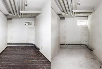 Umbau im Keller