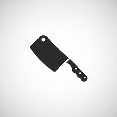 meat knife icon