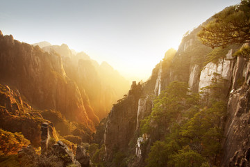 View from Mount Huangshan