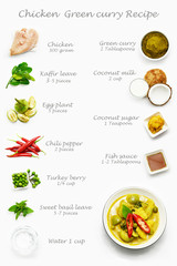 Thai food, curry, curry recipe, Thai chicken green curry,
