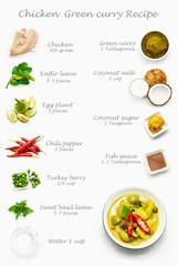 Thai food, curry, curry recipe, Thai chicken green curry,