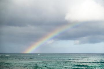 View of rainbow,