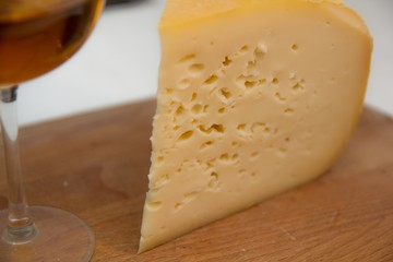 Cheese on the table