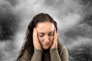 headache with rain