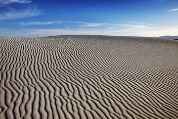 Landscape with sand patterns