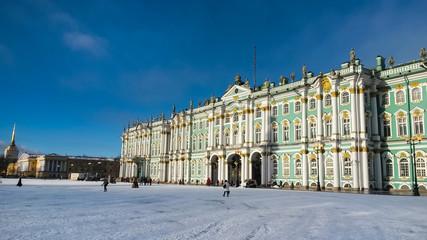State Hermitage museum in Saint Petersburg, Russia