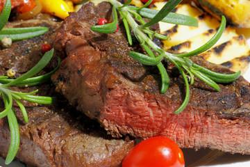 Canvas Prints Grilled fillet of beef