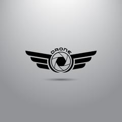 Quadrocopter business icon