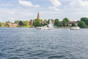 Stadtansicht von Malchow