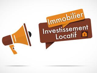 mégaphone : investissement locatif