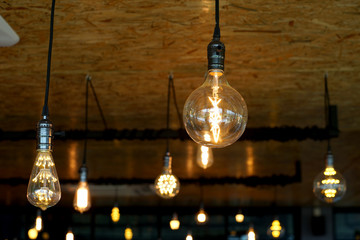 decorative antique tungsten light bulbs