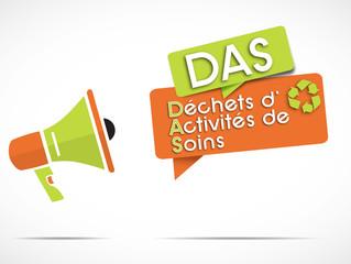 mégaphone : DAS