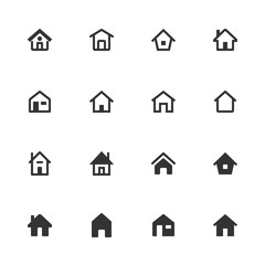 Vector House Icon Set