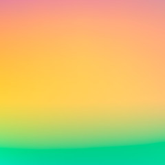 Vector Blurred backgrounds. Retro summer colors. Smooth banner for design website and brochure